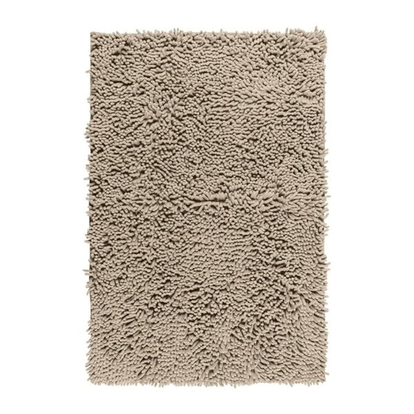 Beżowy dywanik łazienkowy Wenko Chenille, 80x50 cm