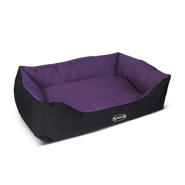 Psí pelíšek Expedition Bed XL 90x70 cm, švestkový