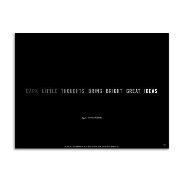 Plakát Dark Little Thouhgts