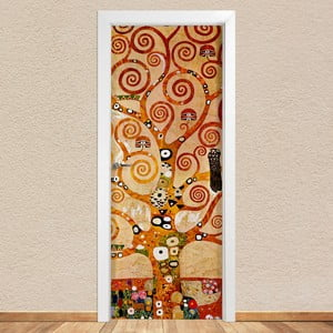 Samolepka na dveře LineArtistica Albero Klimt, 80 x 215 cm