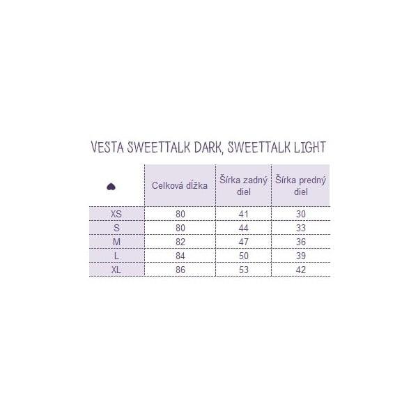 Vesta Sweetalk Light, velikost S