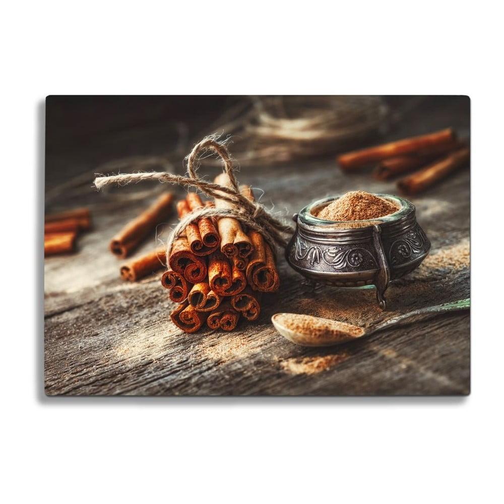 Skleněné prkénko na krájení Insigne Cinnamon