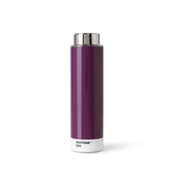 Sötétlila titánium kulacs, 500 ml - Pantone