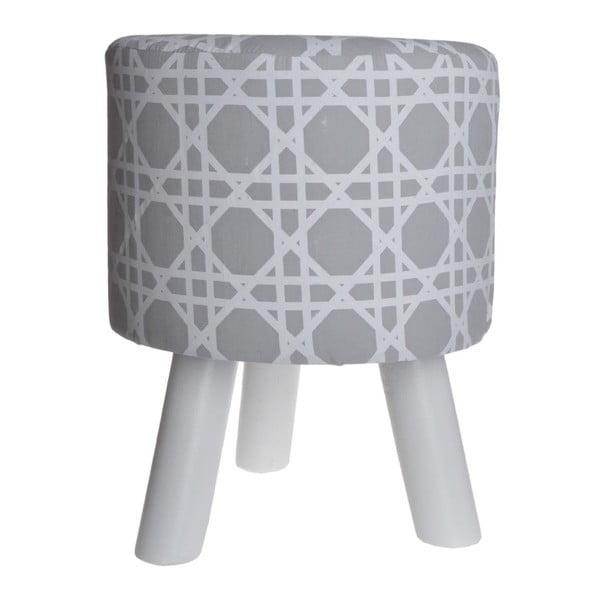 Stolička Geometric Beige
