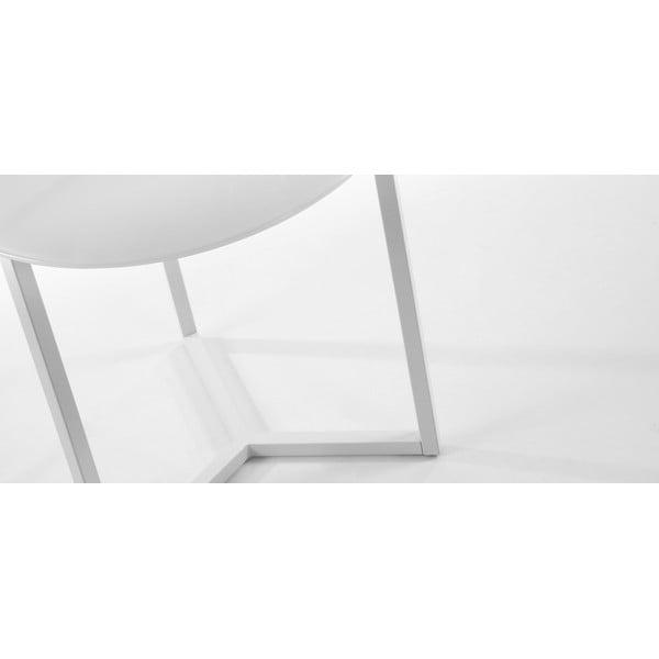 Odkládací stolek Marae White