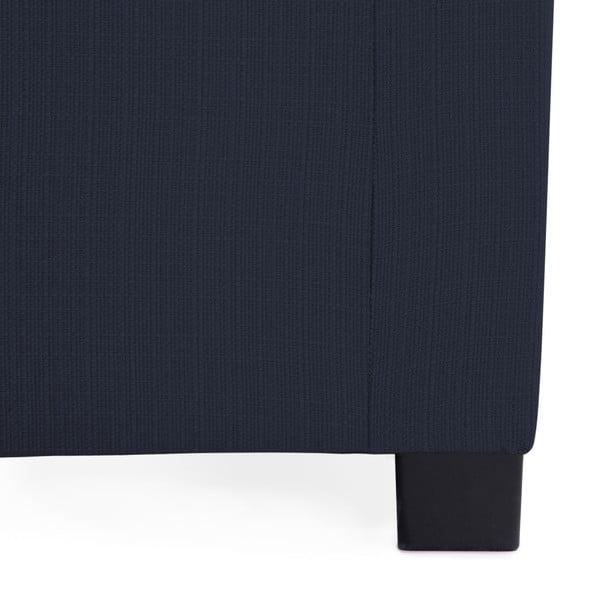 Tmavě modré růžové rozkládací křeslo Vivonita Brent