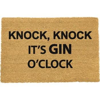 Covoraș intrare din fibre de cocos Artsy Doormats Gin O'Clock, 40 x 60 cm imagine