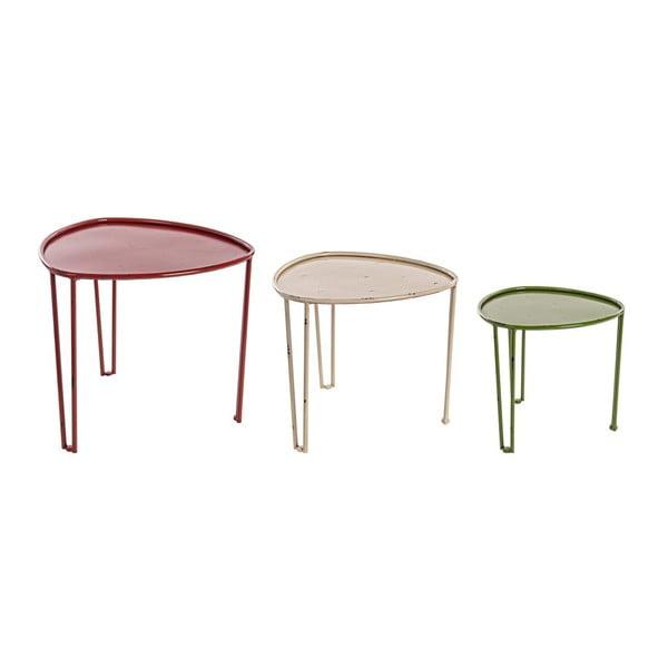 Set 3 stolků Bizzotto Tavolino Danny