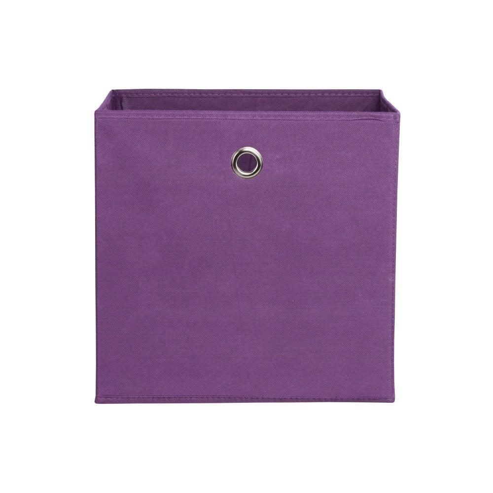 Fialový úložný box Intertrade Alfa