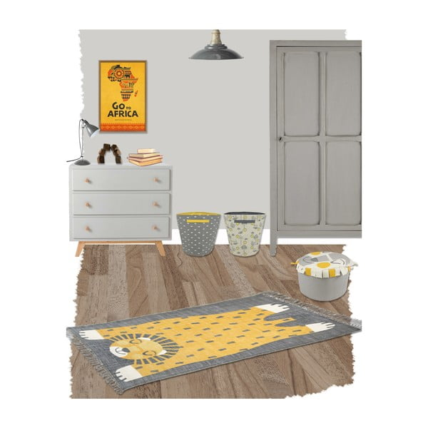 Dětský koberec Nattiot Baba, 110x170cm