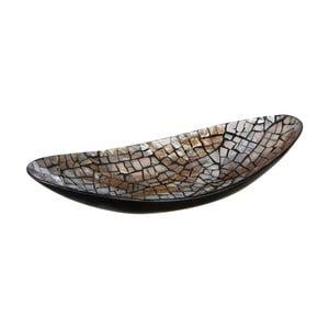 Dekorativní mísa s lasturovými detaily Premier Housewares Crackle Mosaic