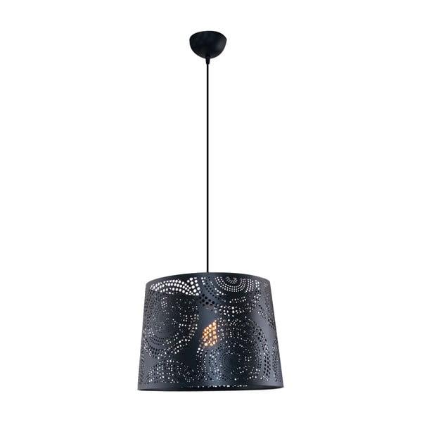 Závěsné světlo Santiago M, černé