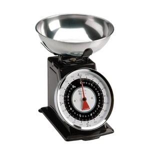 Kuchyňská váha Retro Scales, černá