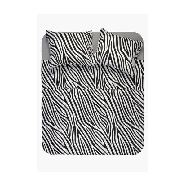 Bawełniana pościel z wzorem zebry Ambianzz, 220x240 cm