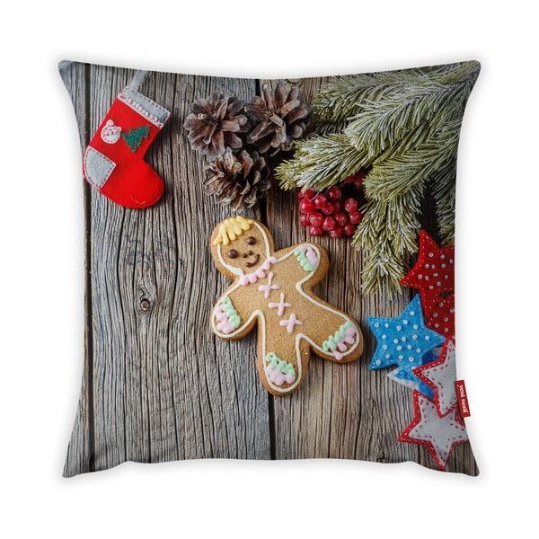 Poszewka na poduszkę Vitaus Christmas Period Cookie, 43x43 cm