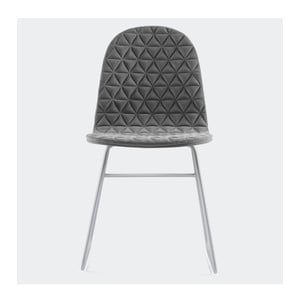 Židle Mannequin Triangle, šedá
