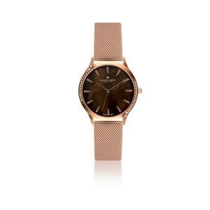 Dámské hodinky s bílým páskem z pravé kůže Frederic Graff Lychee