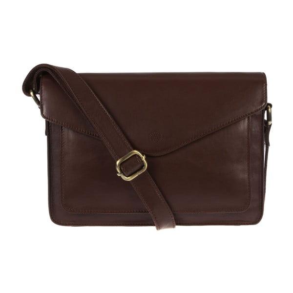 Dámská kožená taška Ursula Cognac Cross-Body