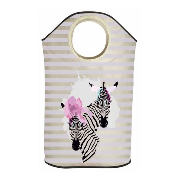 Koš na prádlo Zebra Couple