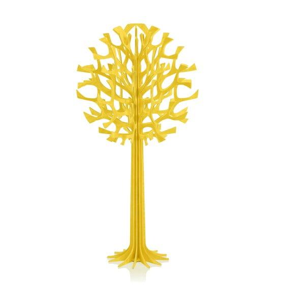 Skládací dekorace Lovi Tree Yellow, 34 cm