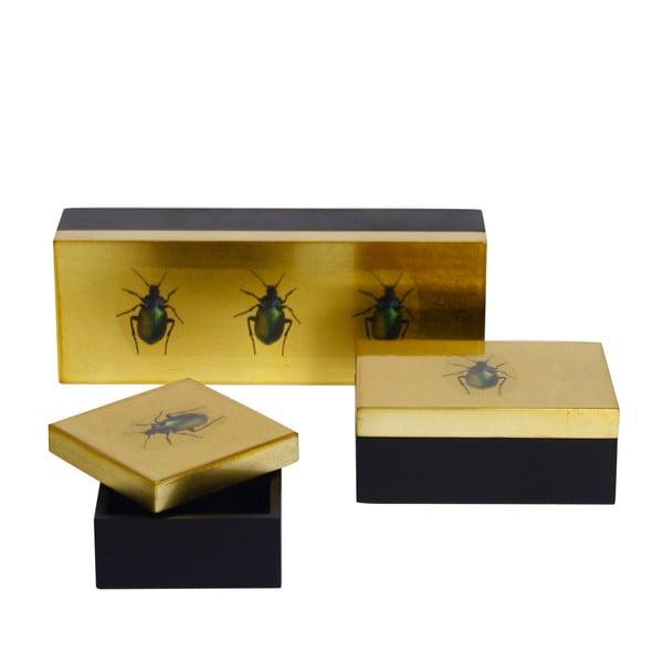 Sada 3 krabic Bugs