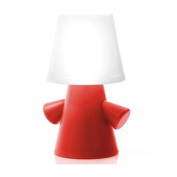 Venkovní solární lampičky Greenman, červená