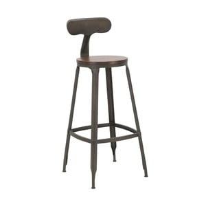 Set 2 scaune de bar Mauro Ferretti Harlem, înălțime 103 cm