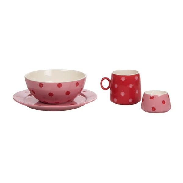 Dětská porcelánová sada Ramponi Baby Rose