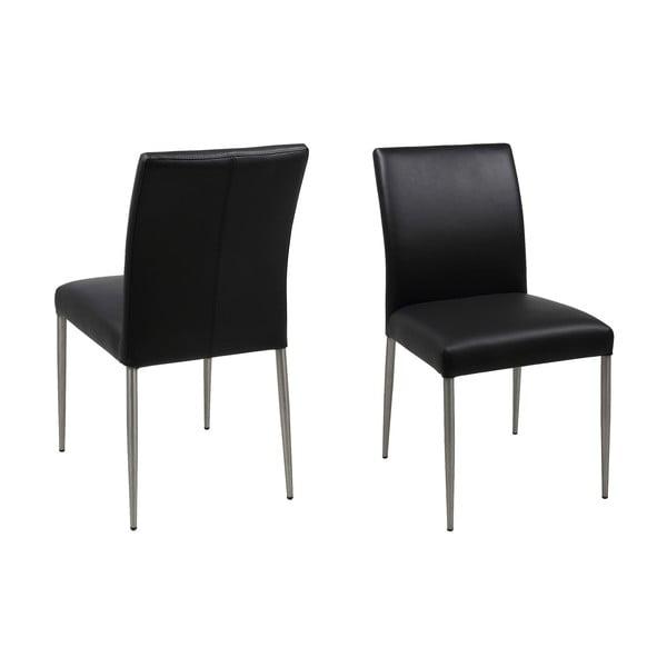Černá jídelní židle Actona Sala
