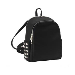 Černý batoh z pravé kůže Andrea Cardone Antique Pikalo