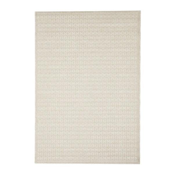 Béžový venkovní koberec Floorita Stuoia, 155 x 230 cm
