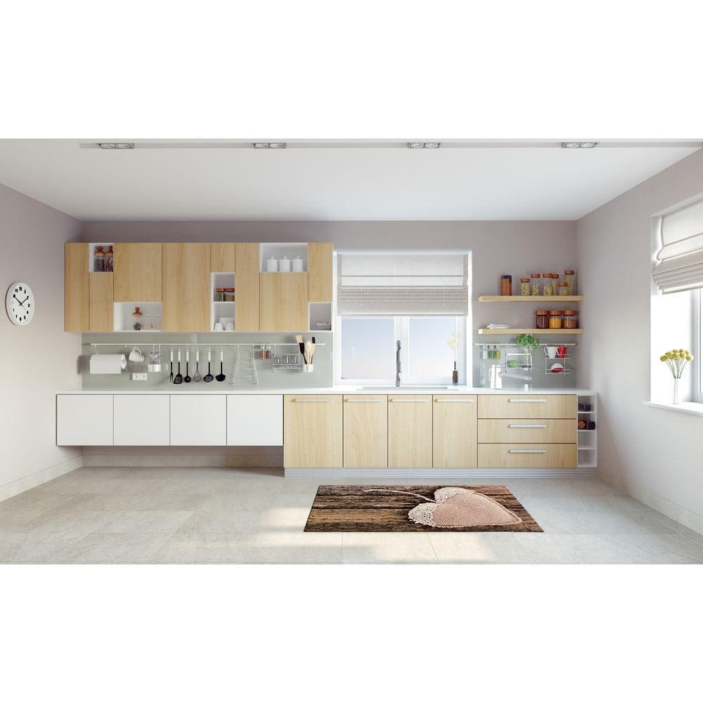 Vysoce odolný kuchyňský koberec Webtappeti Coure, 60 x 190 cm