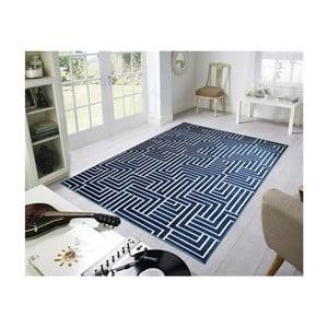 Modrý koberec Webtappeti Reflex Faro, 160 x 230 cm