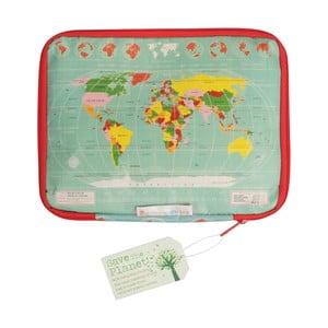 Obal na tablet Rex London World Map, 22x28cm