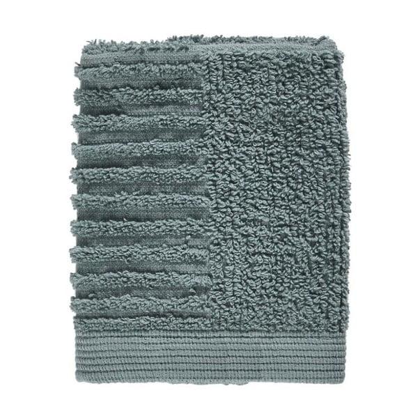 Petrolejově zelený ručník ze 100% bavlny na obličej Zone Classic Petrol Green, 30x30cm