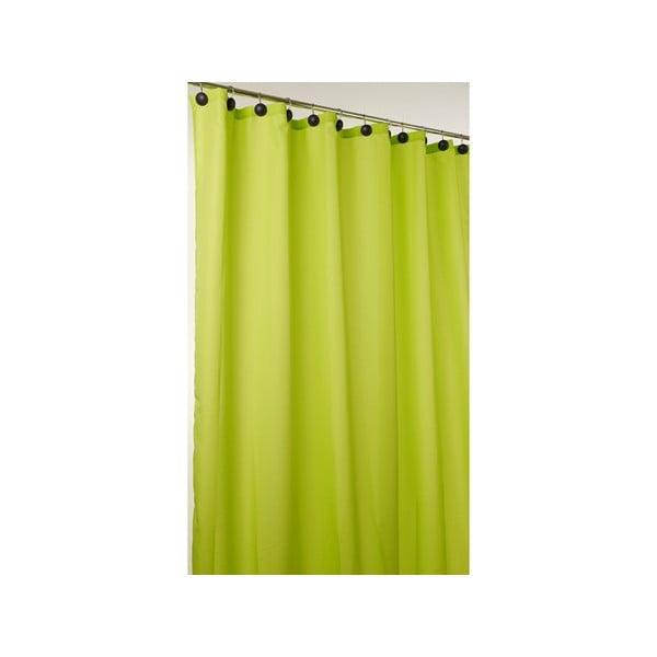 Sprchový závěs Comfort lime, 180x200 cm