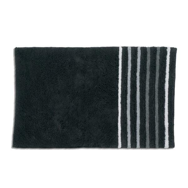 Koupelnová podložka Kela Ladessa, černá, 50x80 cm