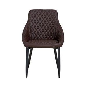 Hnědá jídelní židle Hanah