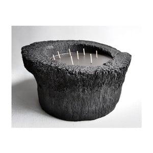 Palmová svíčka Legno Dark s vůní vodního květu, 320 hodin hoření