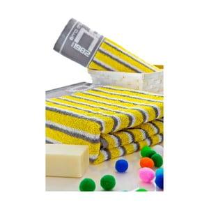 Set ručníků 50x100 a 150x80 cm, žluté