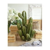 Zelená keramická dekorace Orchidea Milano Cactus, výška 48 cm