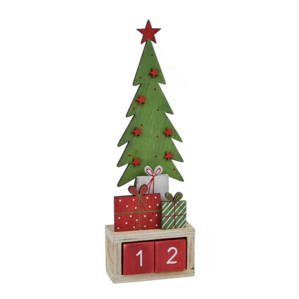 Adventný kalendár Ego dekor Advent, výška 27 cm