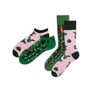 Sada 2 párů klasických a kotníkových ponožek Many Mornings Summer, vel. 39-42