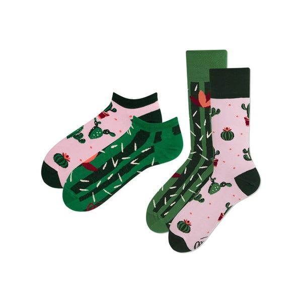 Sada 2 párov klasických a členkových ponožiek Many Mornings Summer, veľ. 35-38