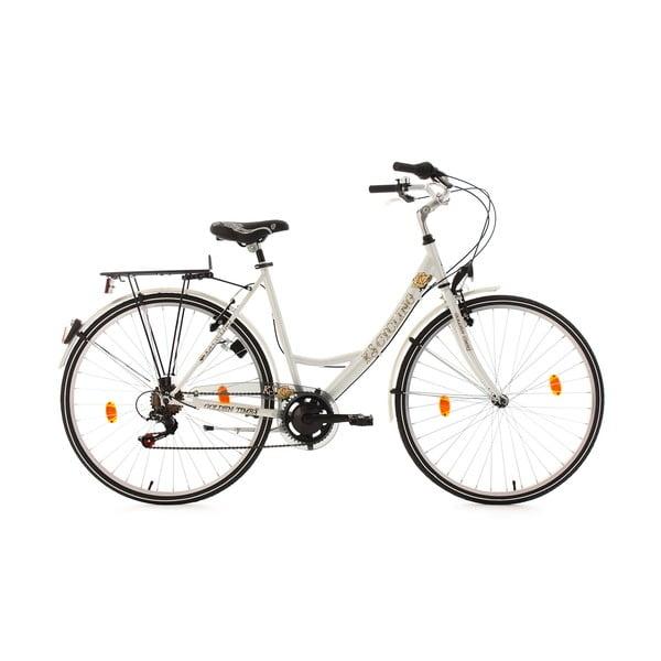 "Kolo City Bike Golden Times White, 28"", výška 53 cm"