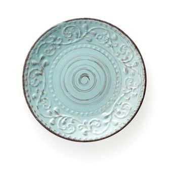 Farfurie din ceramică Brandani Serendipity, ⌀ 21 cm, turcoaz