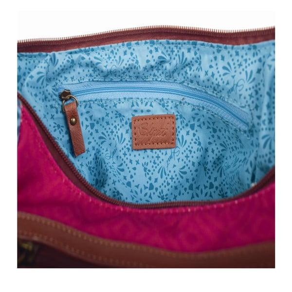 Pestrobarevná kabelka SKPA-T, 29 x 27 cm