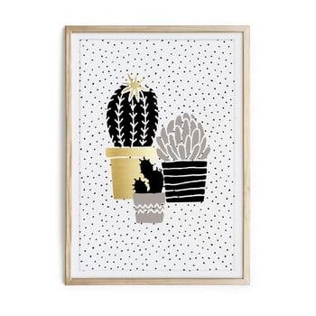 Tablou/poster înrămat Really Nice Things Cactus Family, 40x60cm de la Really Nice Things