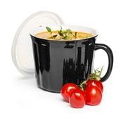 Cană pentru supă Sagaform 500 ml, negru