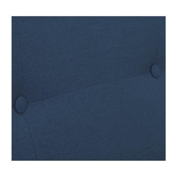 Modrá rozkládací pohovka HARPER MAISON Laila